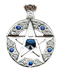 MD13 Celtic Pentagram - Willpower and Success
