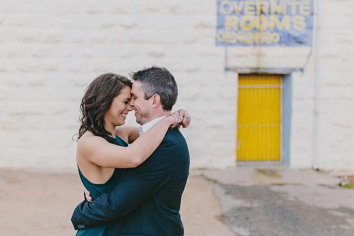 Downtown Engagement Shoot