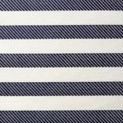 Twill Stripe - Indigo