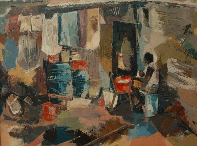 Washing day - SOLD