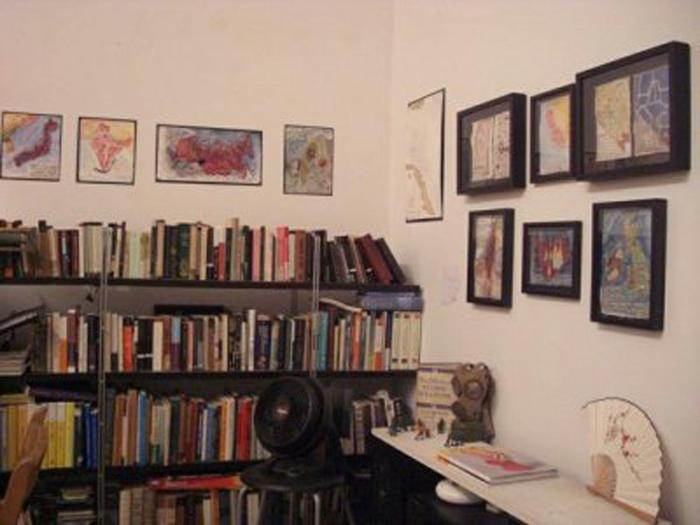 Installation view of exhibition @ Centotto Gallery, Bushwick.