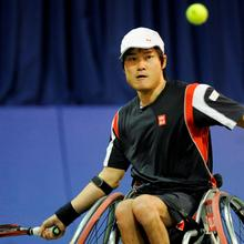 Thumbnail for WORLD'S BEST WHEELCHAIR TENNIS PLAYER TO COMPETE LOCALLY