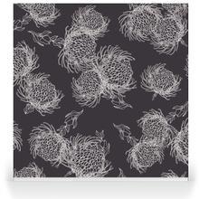 Garden Bloom - parchment_charcoal