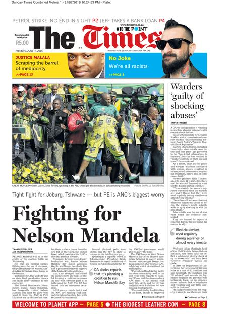 The Times (SA) - South African Local Elections