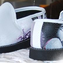 Thumbnail for 2009-03 | Shoe Graffiti @ Munks Concepts Store, Johannesburg