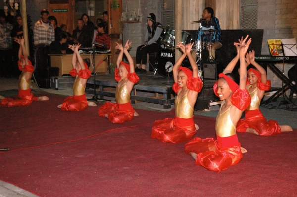 The CAFDA Dance School performance.