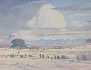 JH Pierneef: Lydenburg Dist, Transvaal