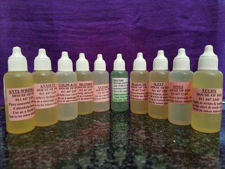 Aromatherapy Oils | Massage Oil | Chakra oil | House of Isis