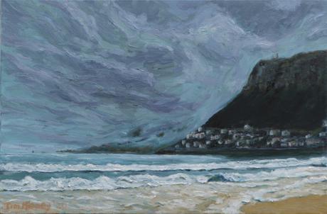 Fish Hoek Bay / 2020 / 61cm x 91cm / Oil on Canvas