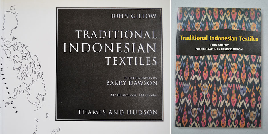GILLOW , John, : Traditional Indonesian Textiles T&H London 1992 • #5669 £7 / US$12