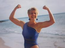 Just a few years ago. Lynne is always in great shape