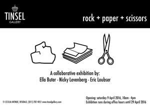 Thumbnail for Rock + Paper + Scissors