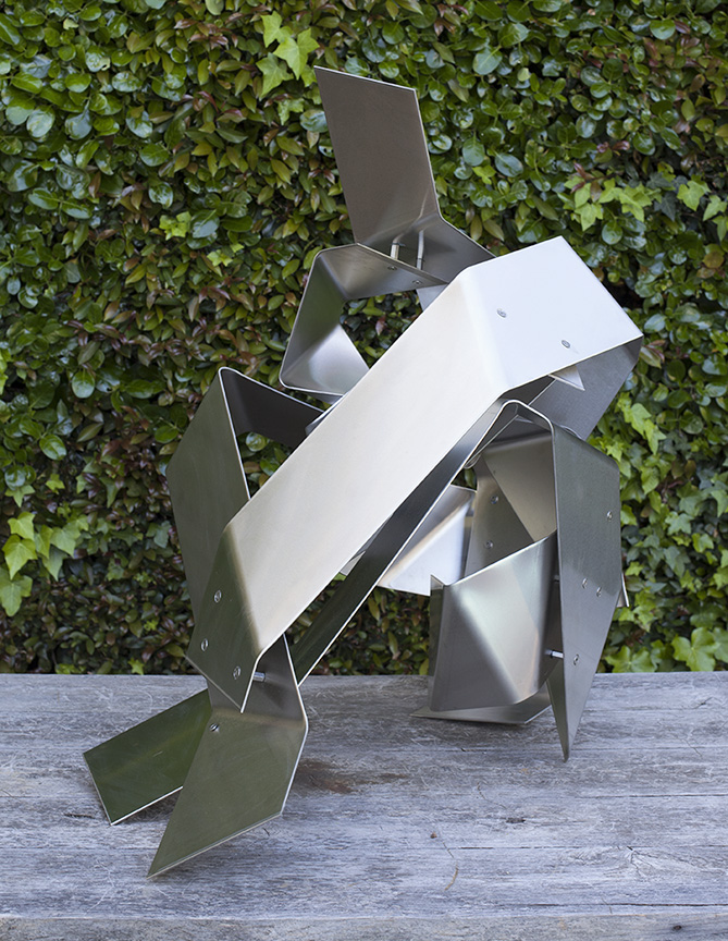 Seated (Origami series)