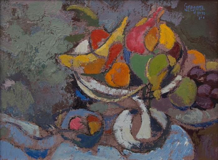 Still life with fruit -  SOLD