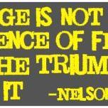 thumbnail for Courage - Nelson Mandela