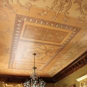 Enigma Mansion Cape Town: assisted Spanish artist with ceiling