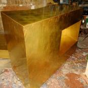 Casa Interiors : goldleafed bar
