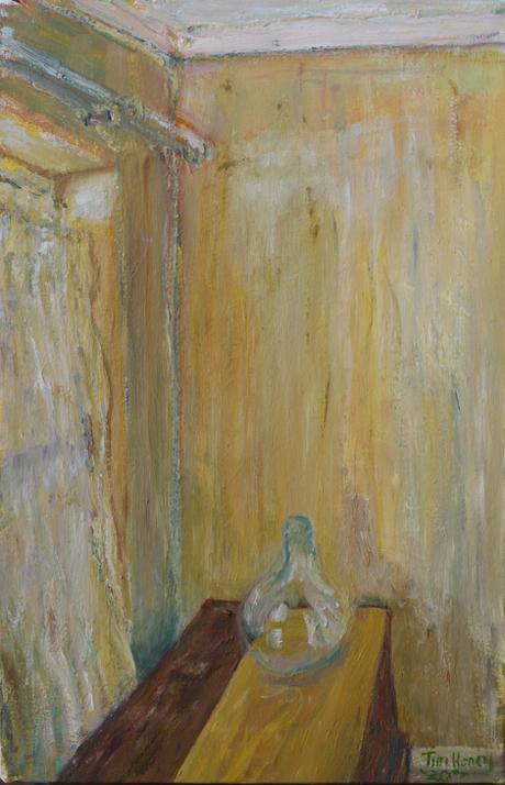 Corner / 2020 / 40cm x 61cm / Oil on Canvas