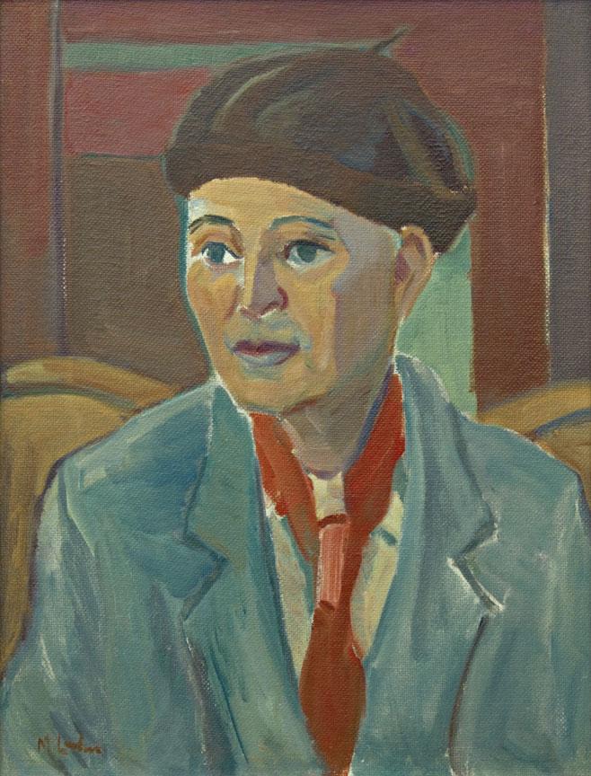 Maggie Laubser: The pianist (Vere Bosman di Ravelli)