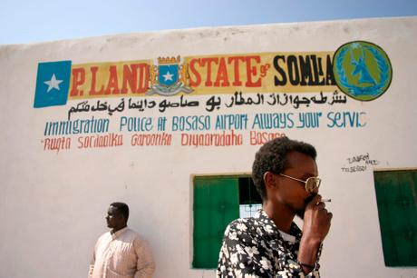 thumbnail for The Immigration Police offices at the Bosaso Airport, Somalia.