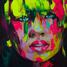 Francoise Nielly: Interviewed for an artist profile in December 2009