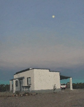 Dawn moon - SOLD