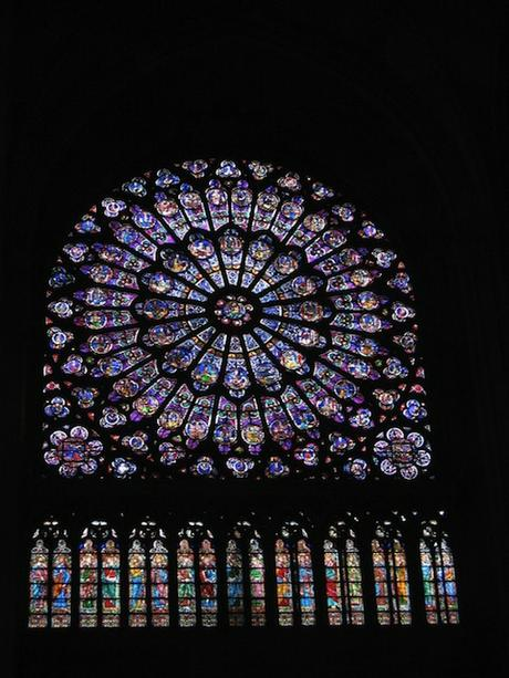 Notre Dame Paris South Rose Window