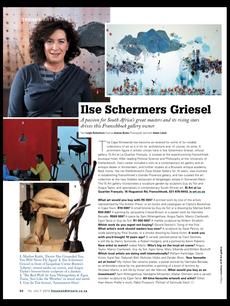 Ilse Schermers Griesel - Franschoek Gallery Owner