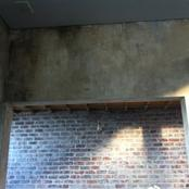 distressed wall-private home-Cape Town