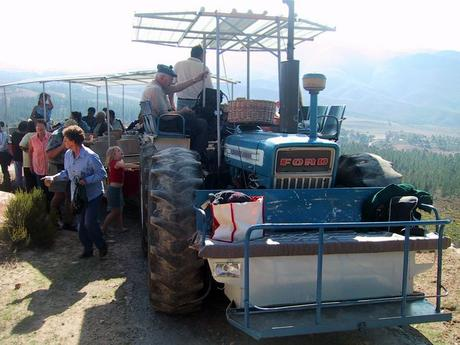 The famous Montagu Tractor Ride