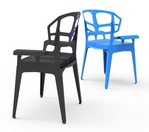 Thumbnail for Bent Wide Chair