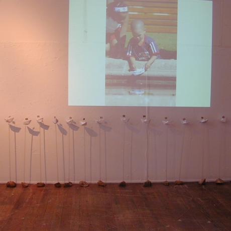 thumbnail for Public intervention (2005): 'Floating Voters'