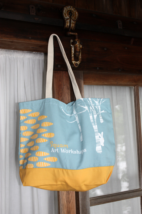 My bag design for Squam Art Workshops 2011