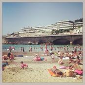 Marseille beach, plage