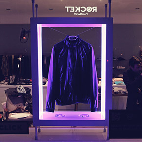 Interactive display - bring the shirt to life using your mobile phone