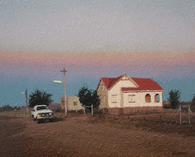Keetmanshoop evening - SOLD