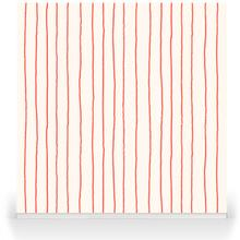 Simple Stripe Signal Red