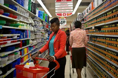 thumbnail for Banker Mwape Mwewa, 28. - Shoprite, Cairo Road, Lusaka, Zambia