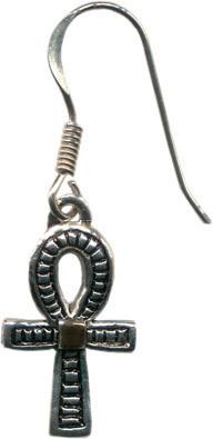 <b>JA6 Ankh earrings - Health, Prosperity & Long Life<br>Price:R280</b>