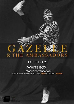 Thumbnail for Gazelle & The Ambassadors live at Whitebox
