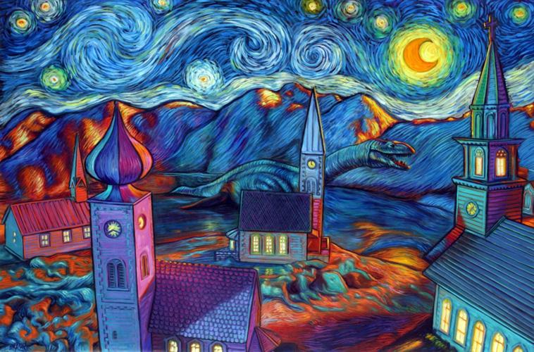 Lochness Starry Night. 2008.