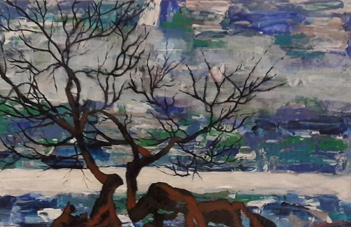 Gill Liprini    Wild Horizon     Acrylic    61 x 44cm    R1500.00
