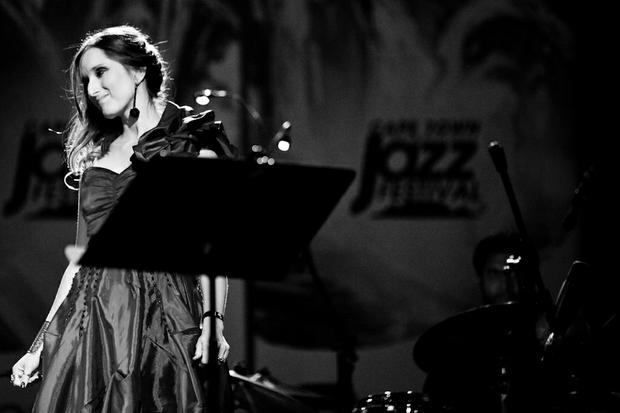 Lisa Bauer at the Cape Town International Jazz Festival by Jonx P