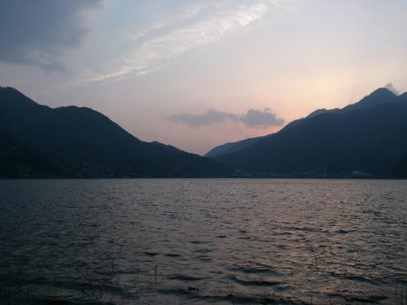 Sunset over Lake Kawaguchiko