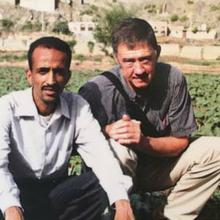 Pierre Korkie was a teacher in Yemen but also volunteered as a farming trainer