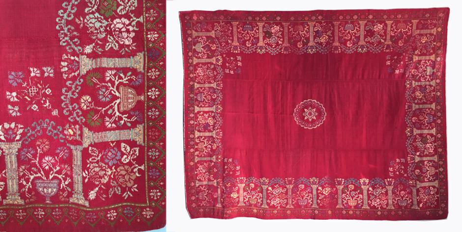 Anatolian Greek wool supplementary flatweave from Anatolia  • 19th cent
