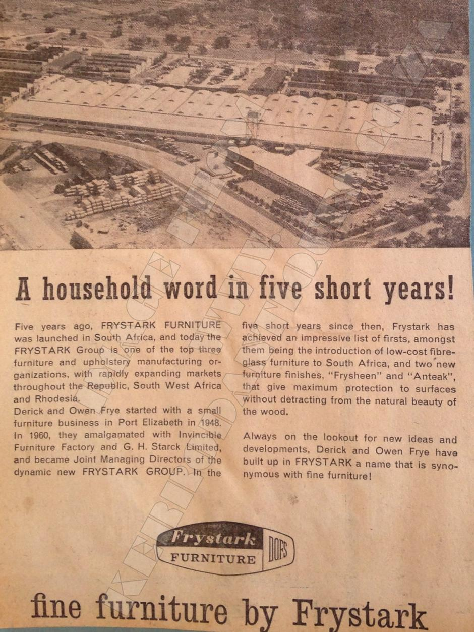 A Little History - Frystark Furniture page 4
