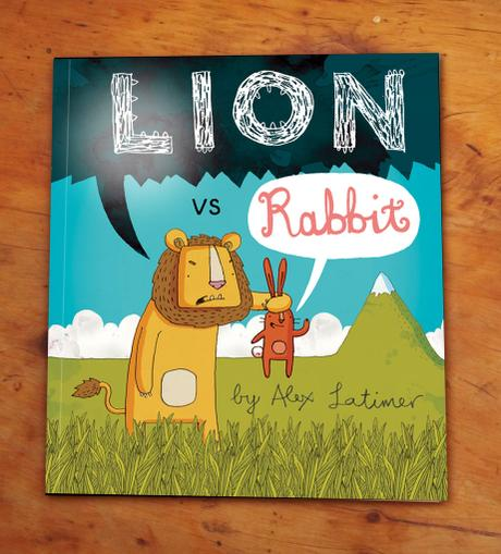 thumbnail for LION vs RABBIT - WINNER OF THE HAMPSHIRE PICTURE BOOK AWARD.