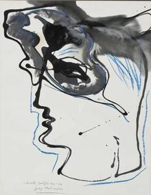 Christo Coetzee (South African 1929-2000) GREY HAIR MOTIVE