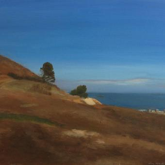 thumbnail for The hills of Anacapri. Prelude 5. Oil on wood. 30 x 40cm